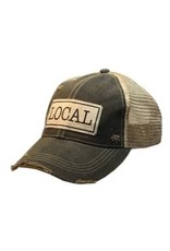 Vintage Life Distressed Baseball Cap - Local