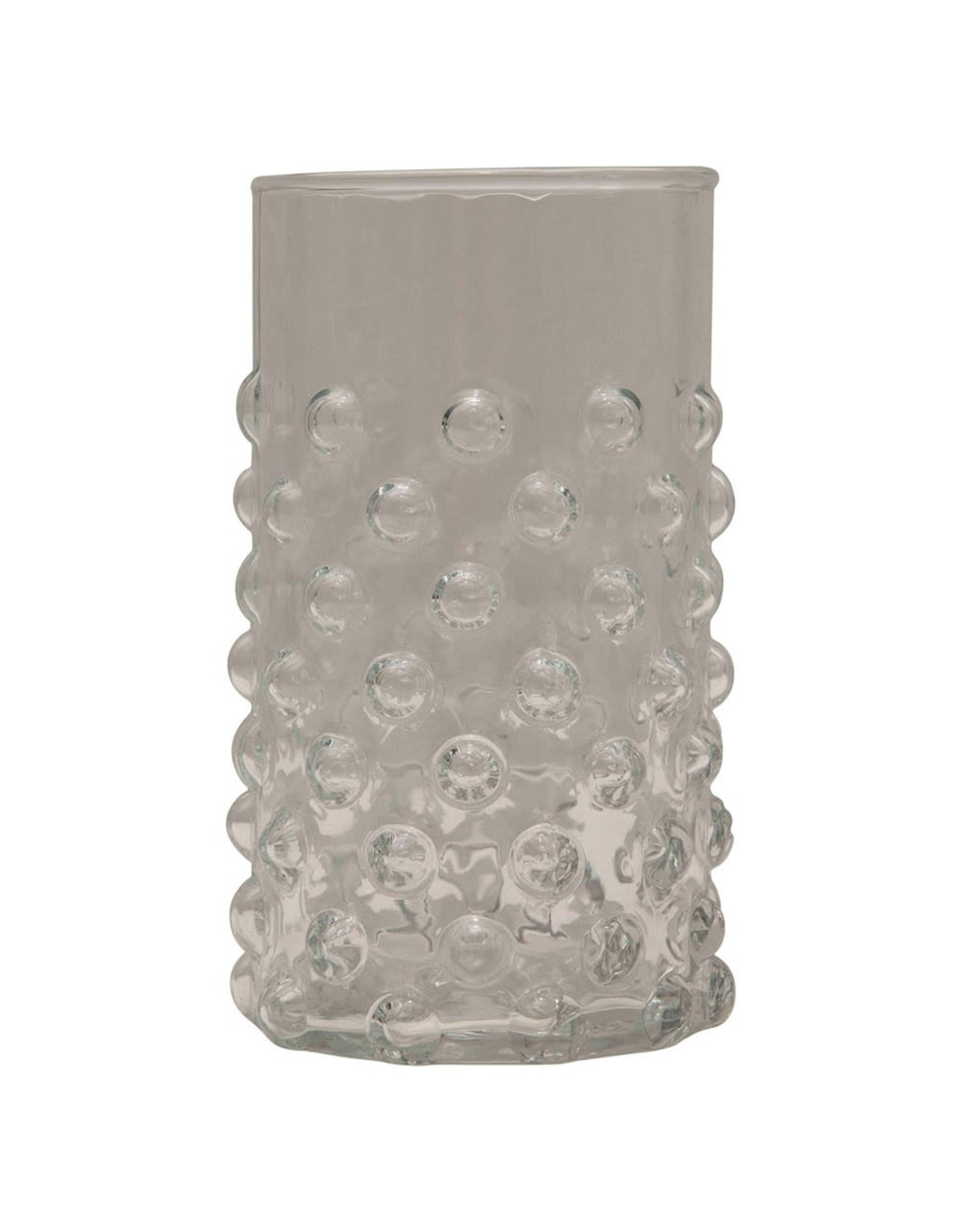 """Creative Co-op 2 1/2"""" Round x 4 1/2""""H Drinking Glass"""