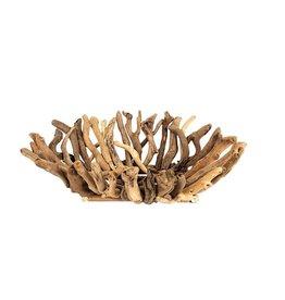 "Creative Co-op 22""L x 16""W Decorative Driftwood Bowl"