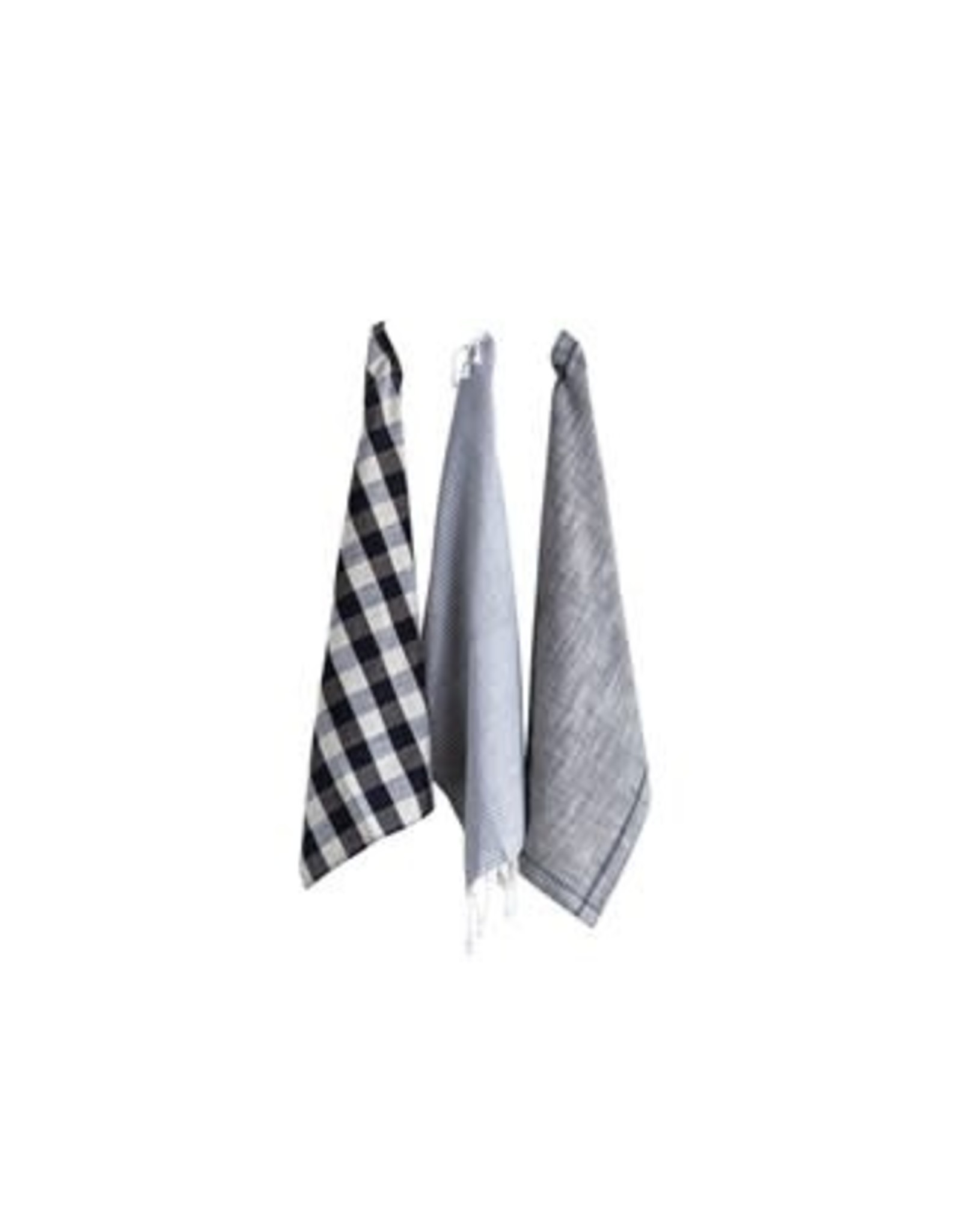 "Creative Co-op 28""x 18"" Cotton Tea Towel Set"