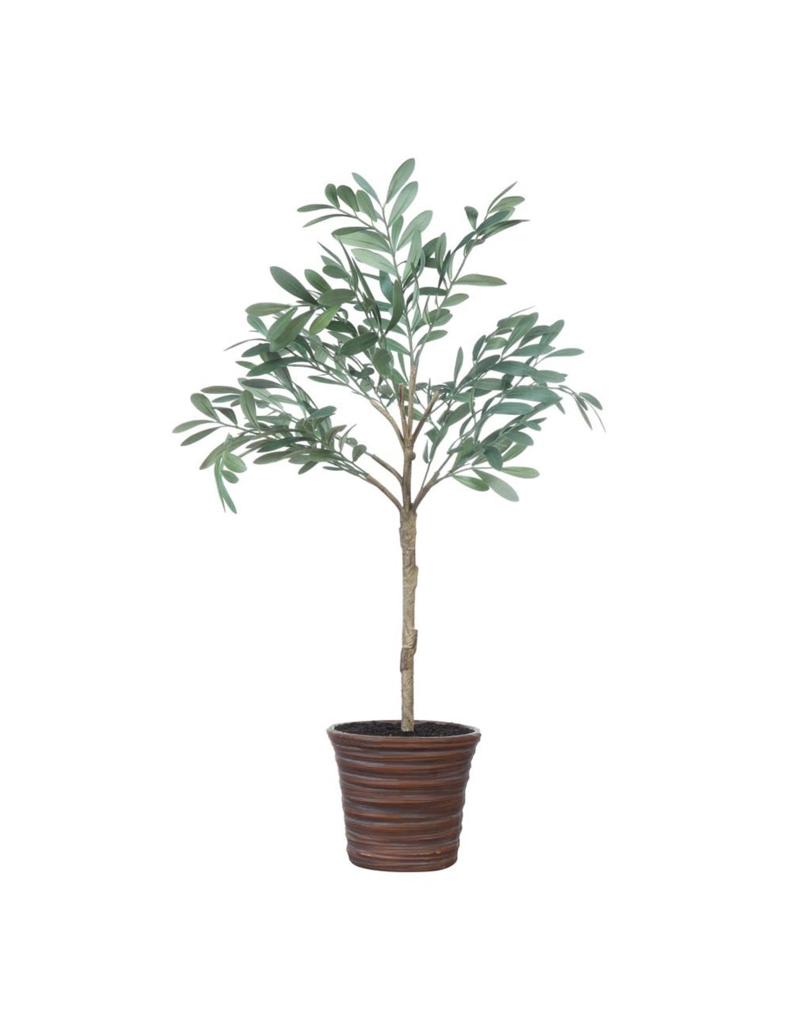 "Creative Co-op 32""H Faux Olive Tree in Terra Cotta Pot"