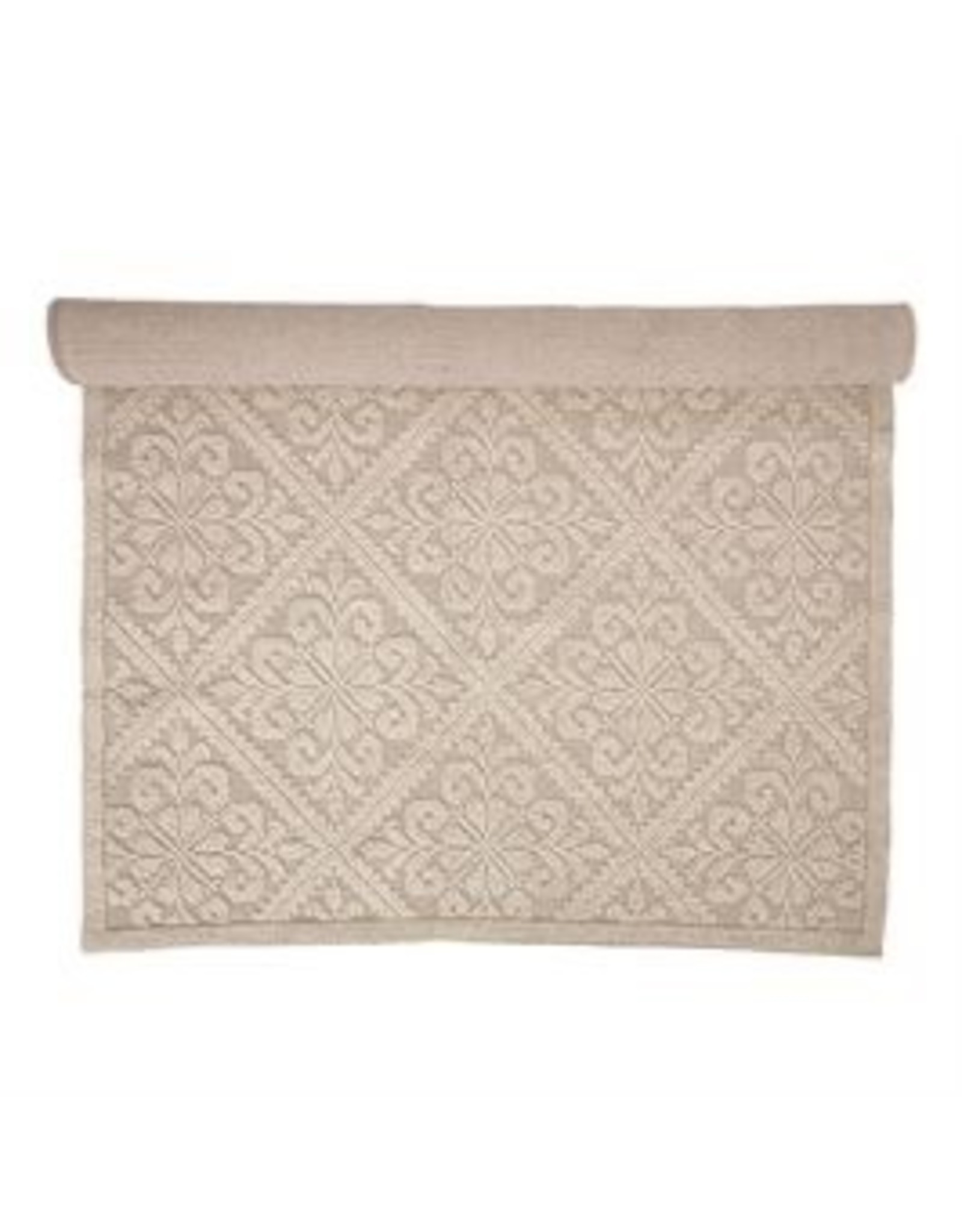 Bloomingville 5' x 7' Cotton/Wool Blend Rug