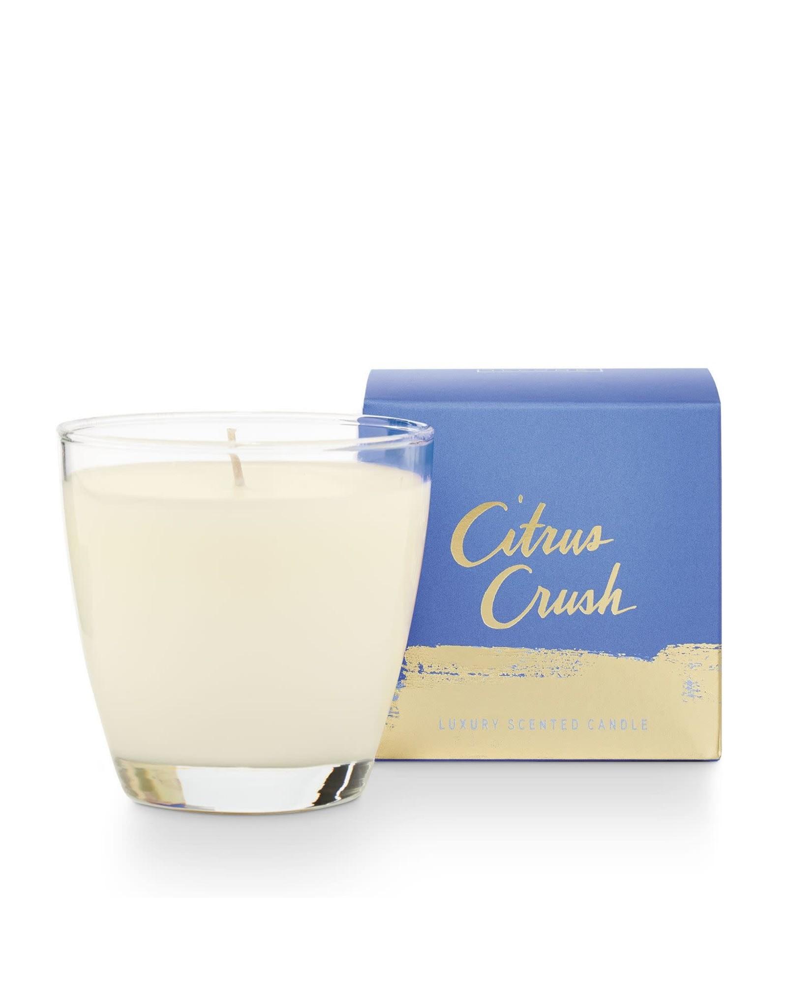 Illume Citrus Crush Glass Candle - 4.7oz