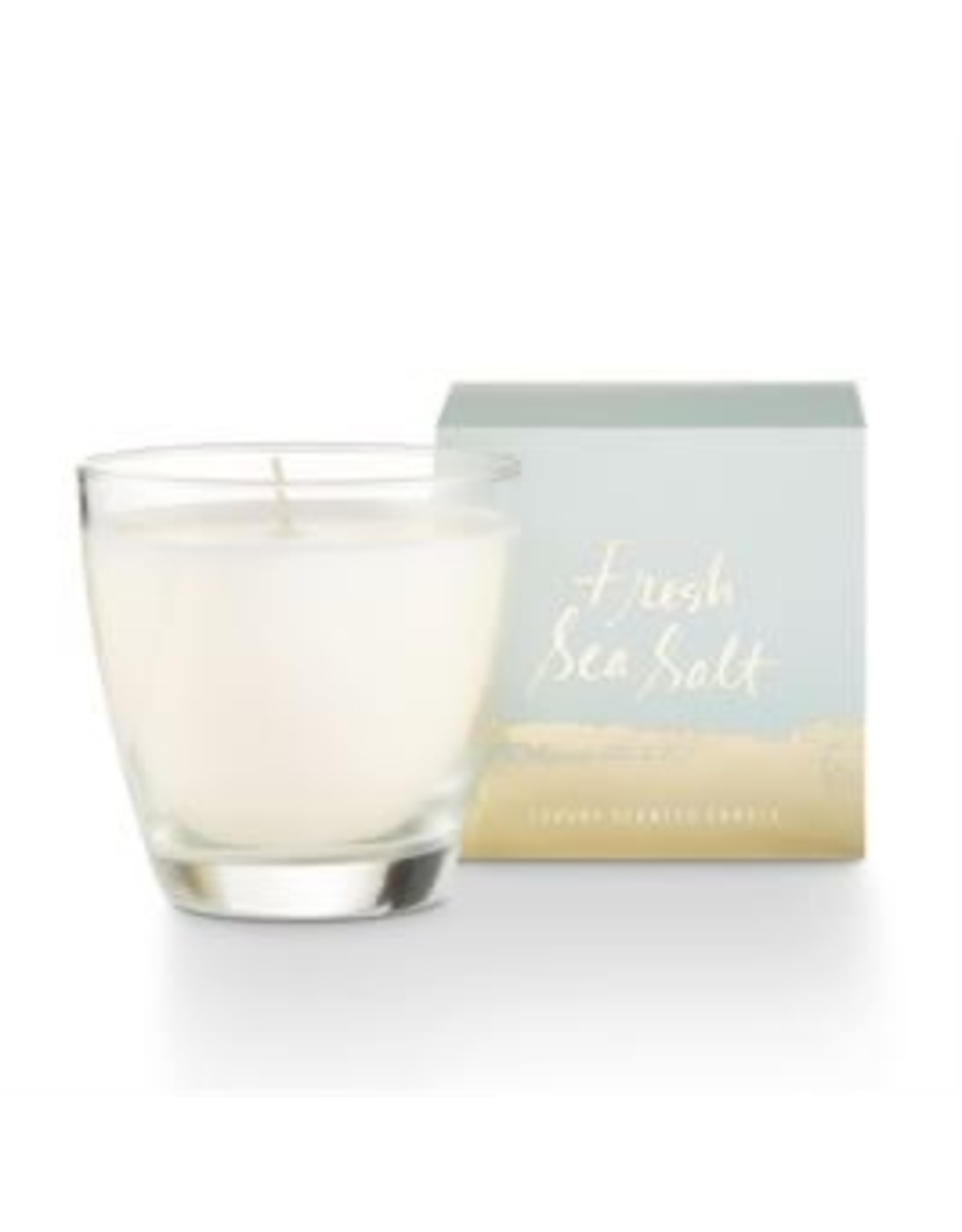 Illume Fresh Sea Salt Glass Candle - 4.7oz