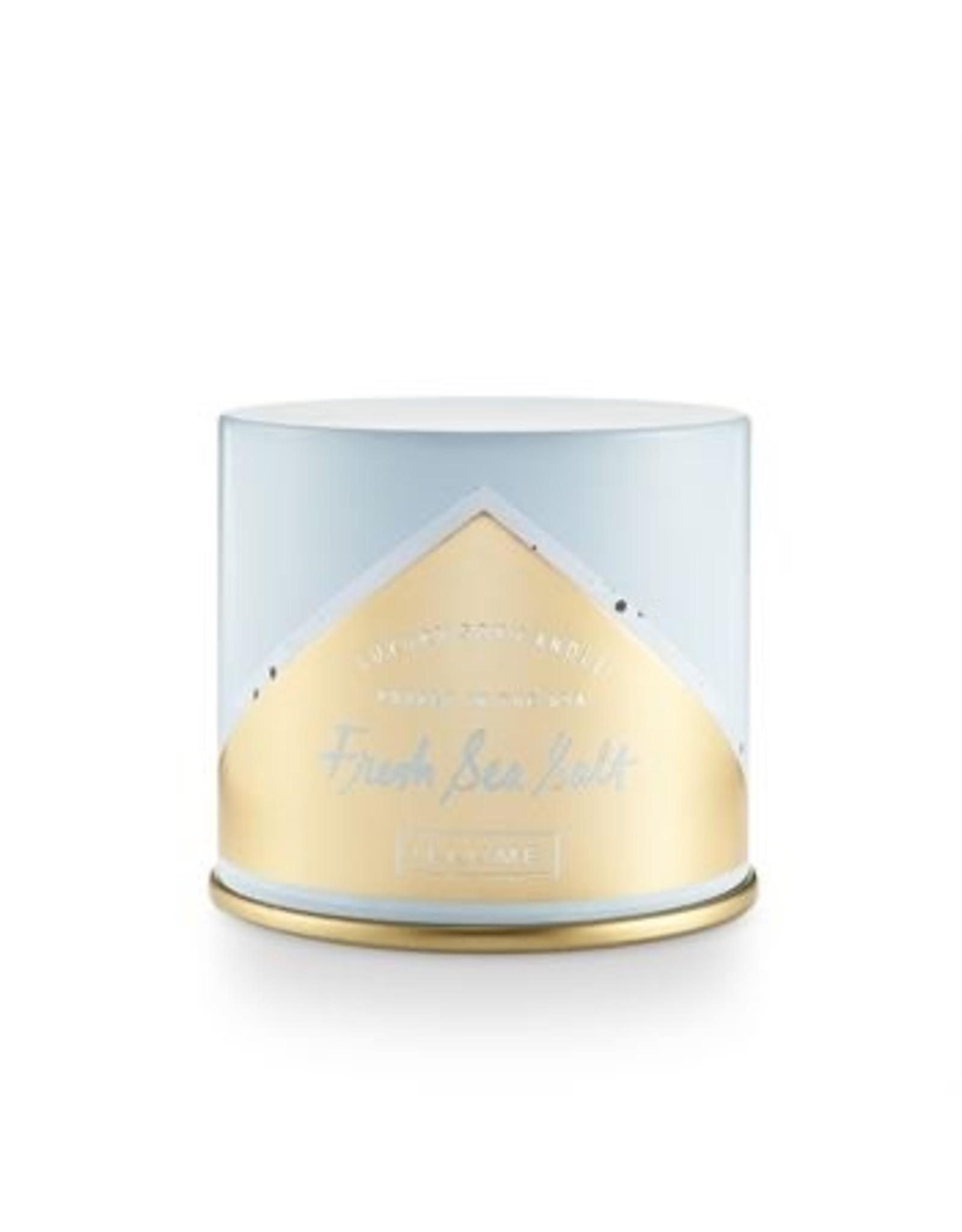 Illume Fresh Sea Salt Metal Candle - 11.8 oz
