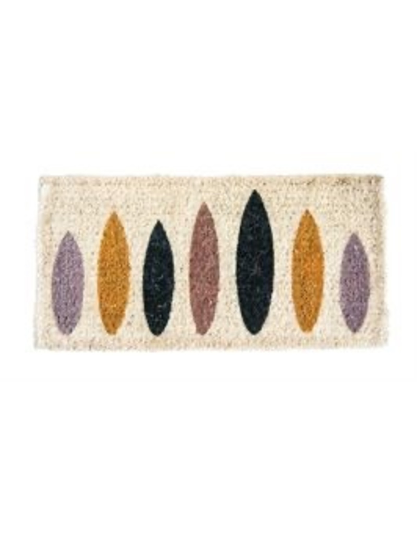Bloomingville Geometric Shapes - Coir Door Mat