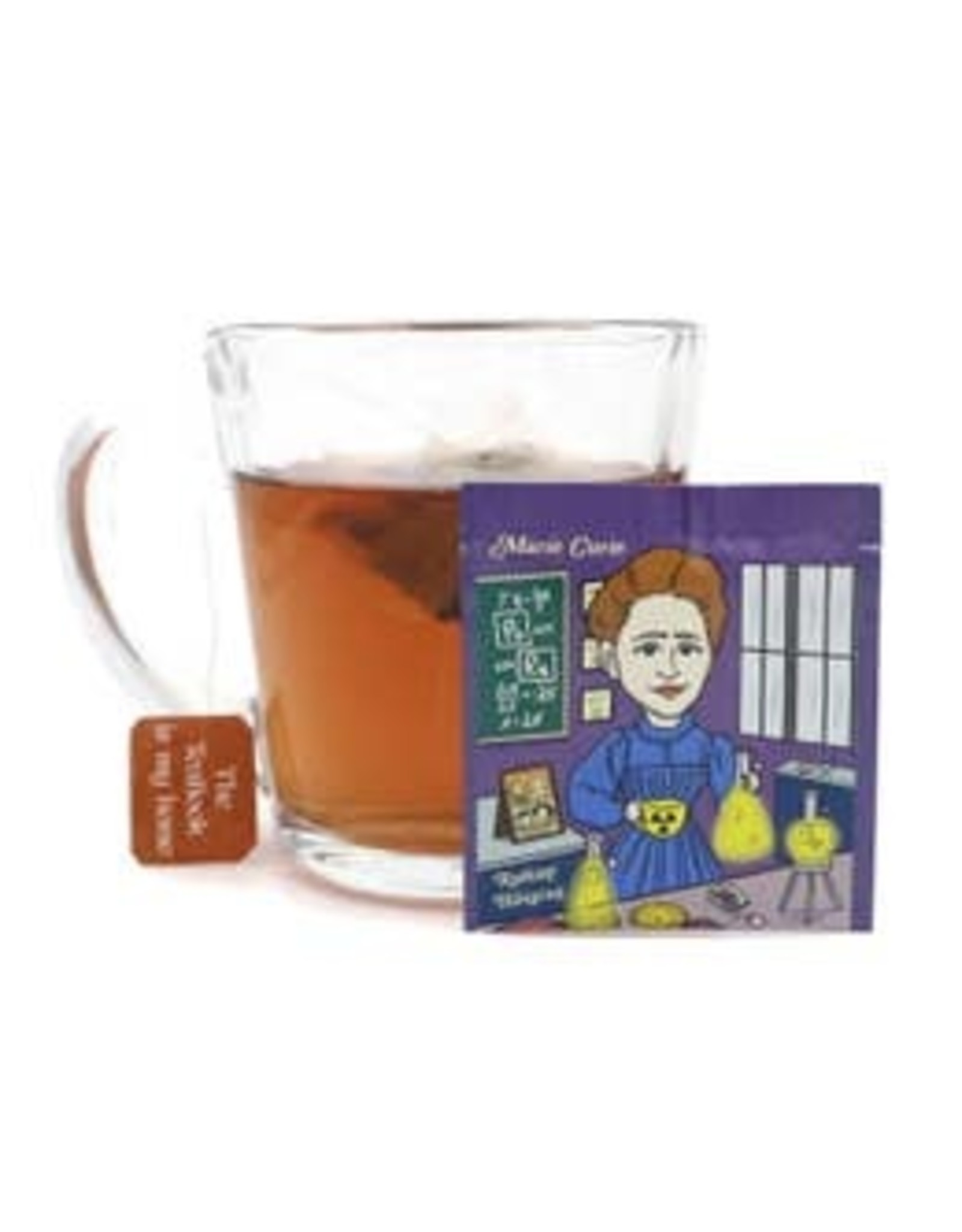 The TeaBook Marie Curie - Radiant Hibiscus Organic Tea