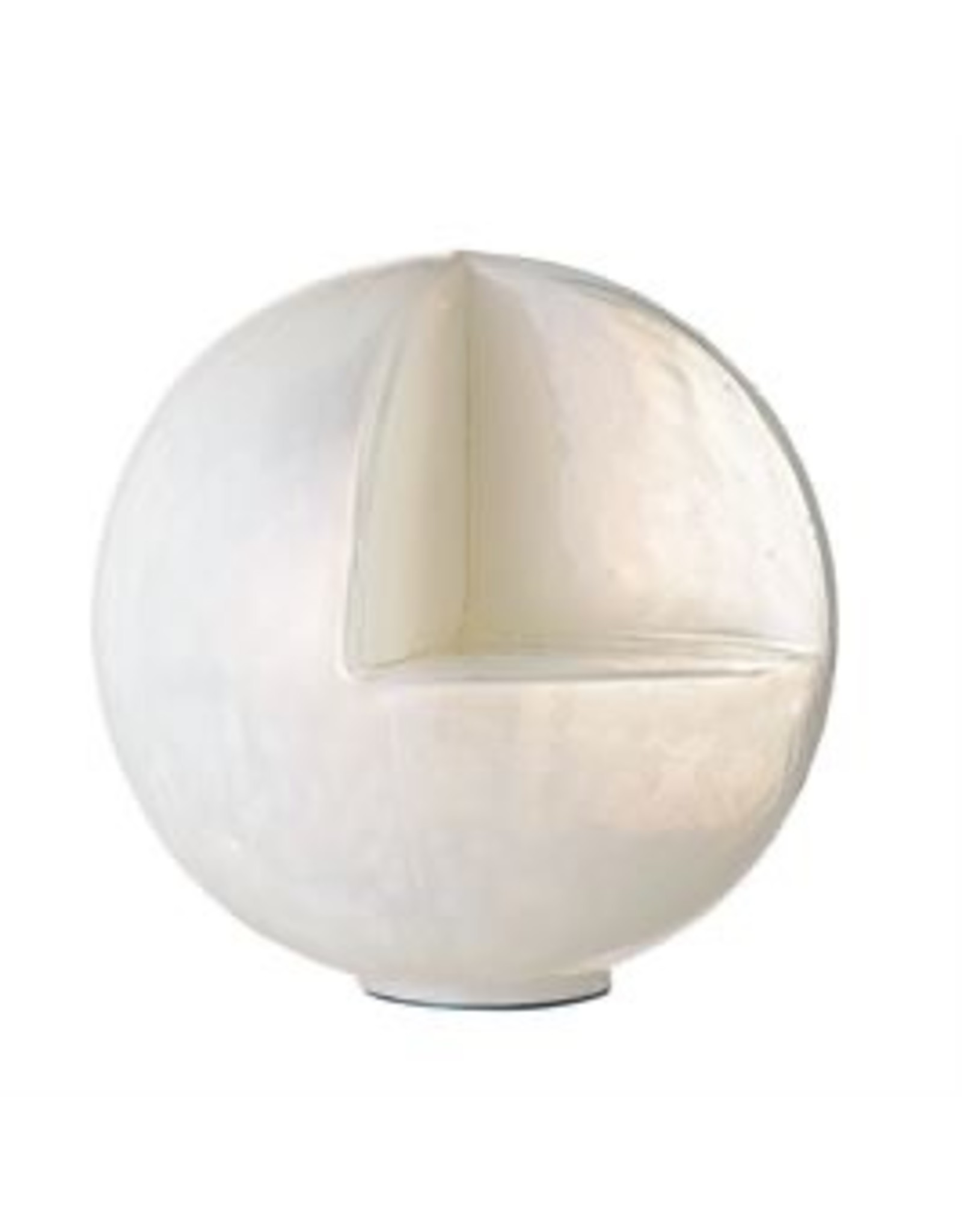Bloomingville Opal Glass Round Candle Holder