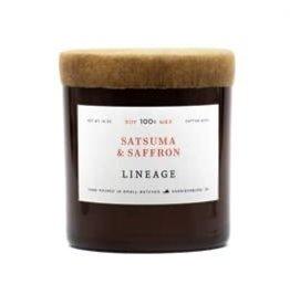 Lineage Satsuma and Saffron Candle