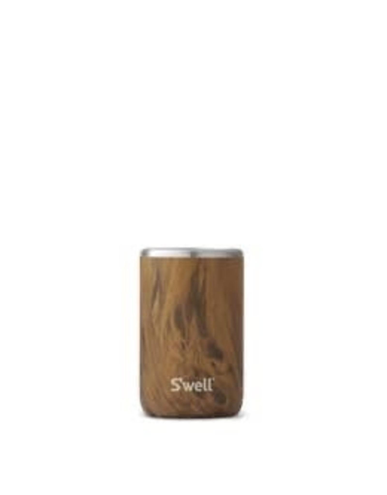 Swell Stainless Steel Drink Chiller 12oz - Teakwood