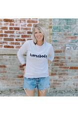 Oak Tree Market Homebody Sweatshirt - Lt Grey - Small