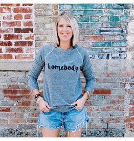 Oak Tree Market Homebody Sweatshirt - Dk Grey - Small