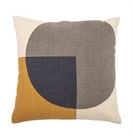 "Bloomingville 16"" Cotton Printed Pillow"