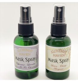 Alchemist Haven - Angela Harris Mask Spray - Lemon, Orange, Bergamont
