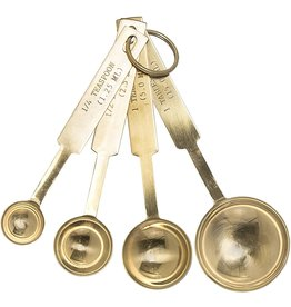 Bloomingville Stainless Steel Measuring Spoons - Brass