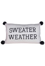 Creative Co-op Sweater Weather Knit Pillow