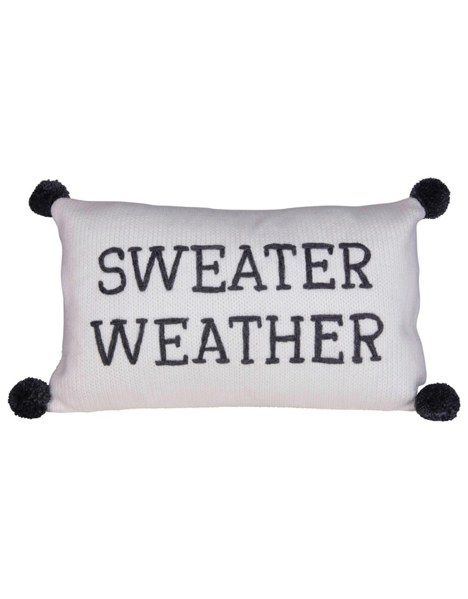The Florist & The Merchant Sweater Weather Knit Pillow