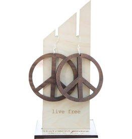 Statement Peace Peace Earrings