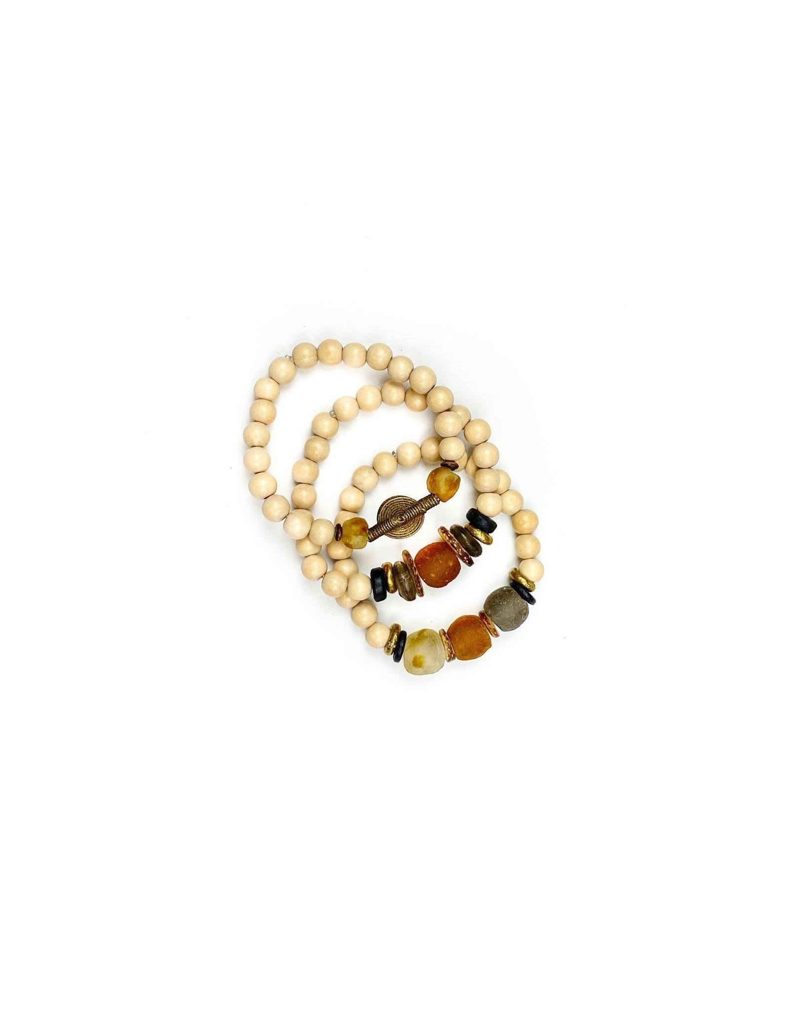 Twine & Twig Trio Stack bracelet – Desert