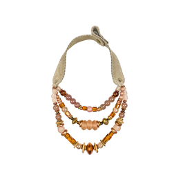 Twine & Twig Layered Classic Necklace - Champagne