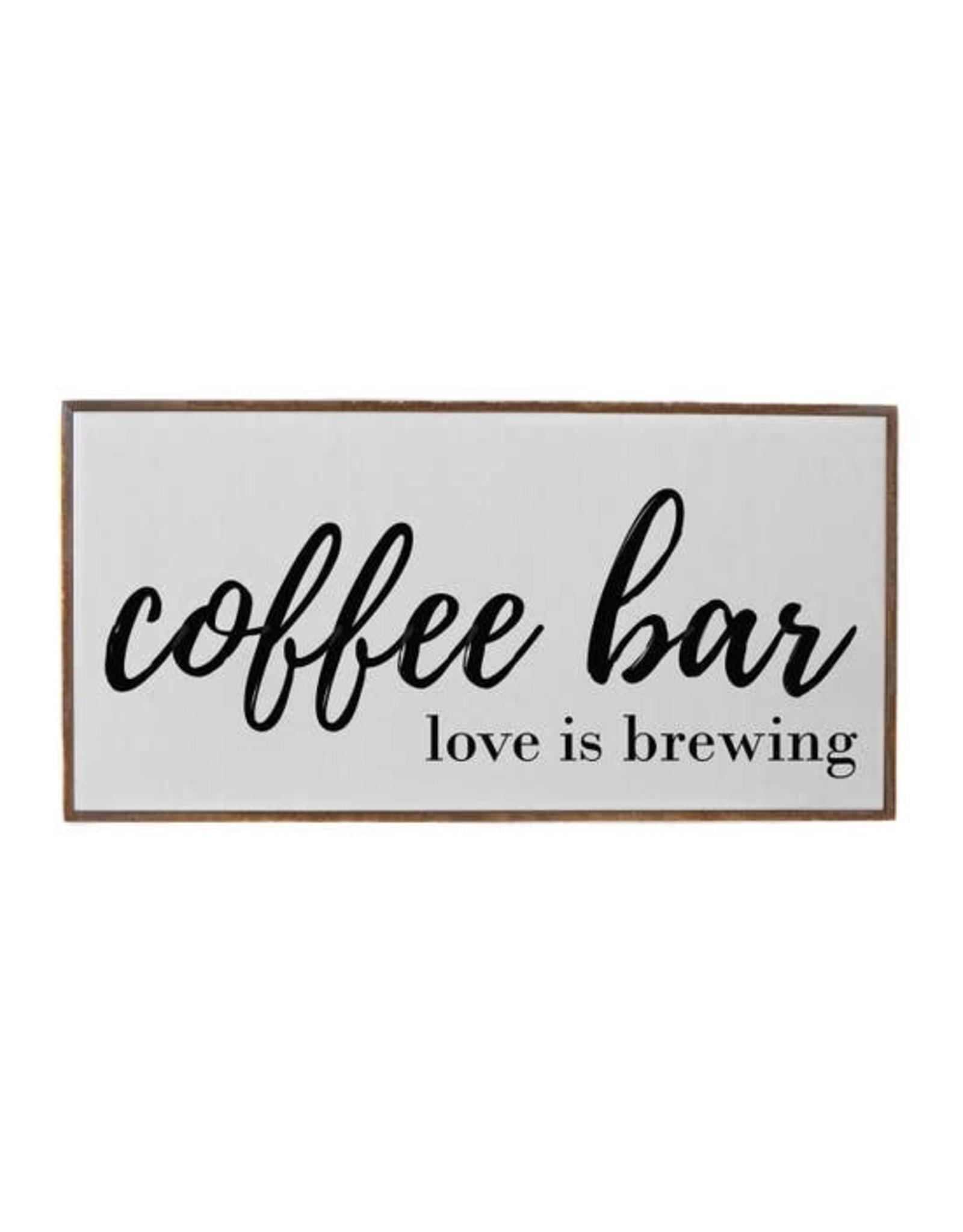 Driftless Studios coffee bar love sign