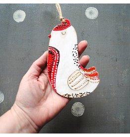 Handy Happy Wooden Ornament - Bird