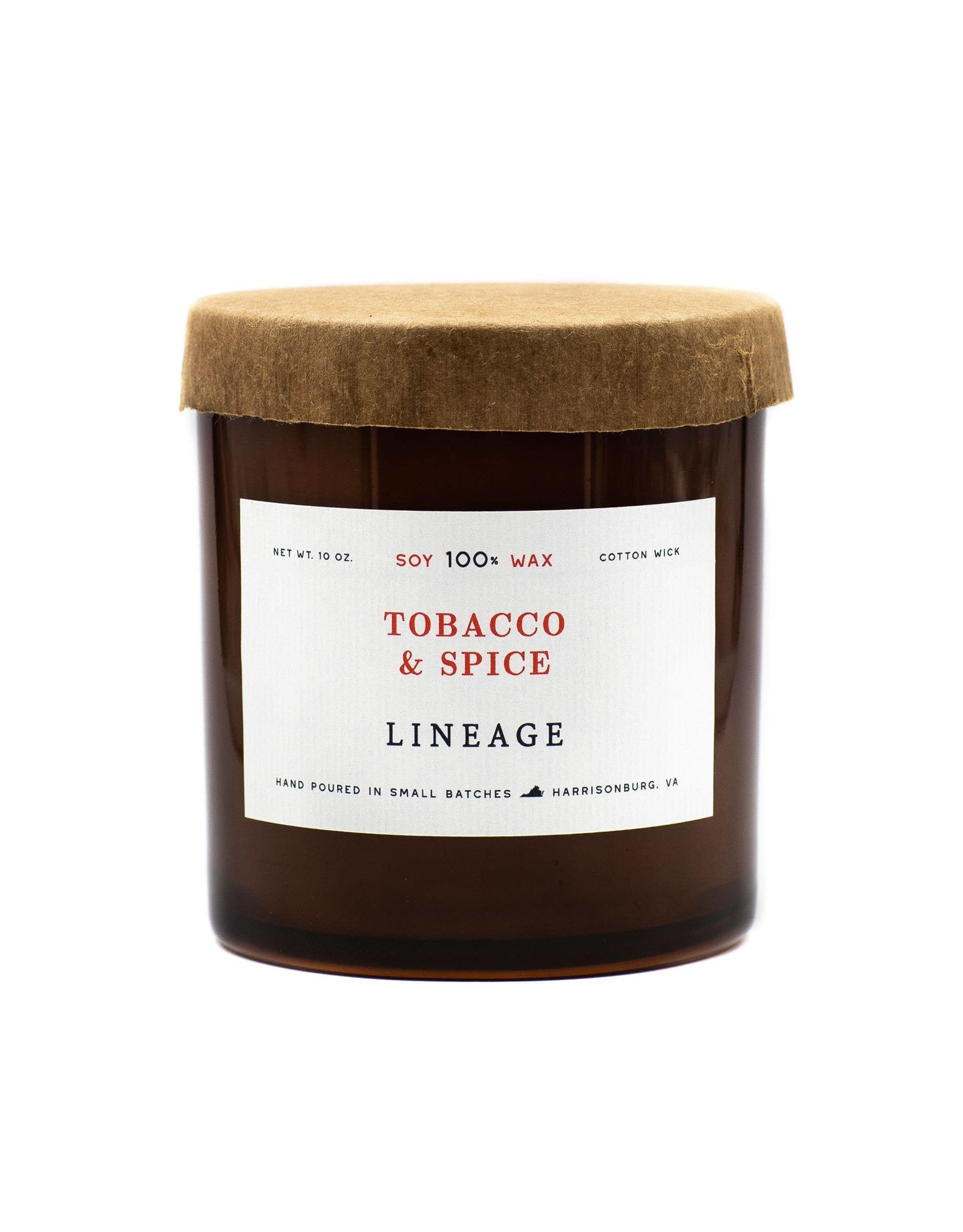Lineage 10oz Tobacco & Spice Soy Candle