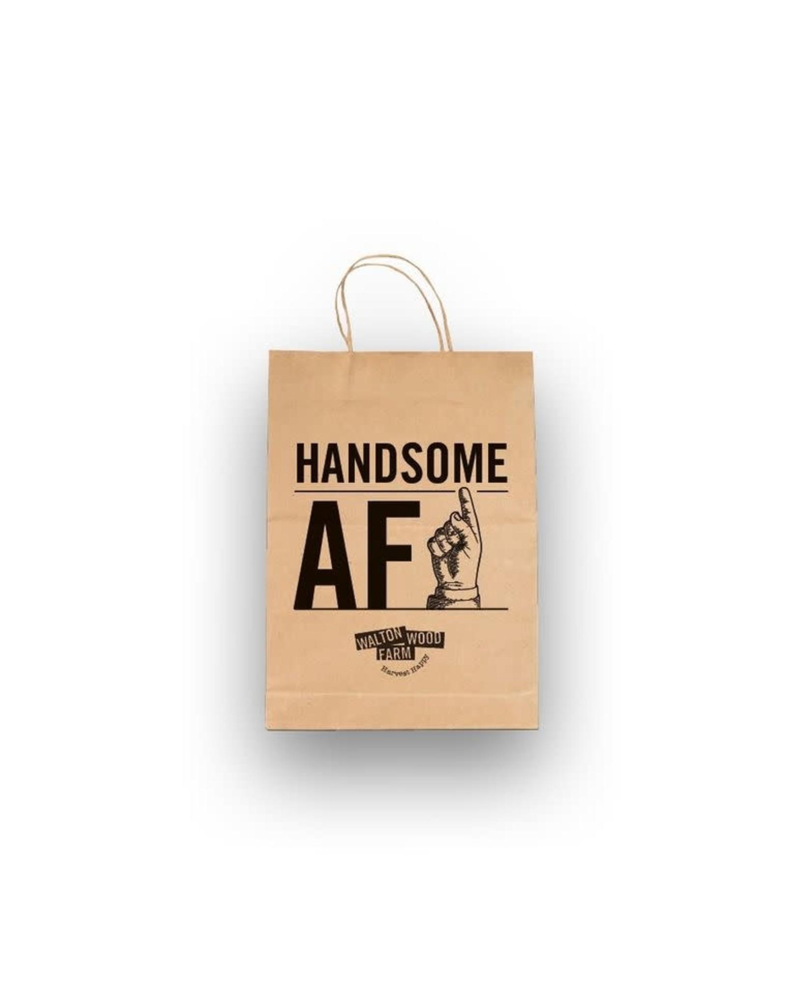 Walton Farms 8 x 10 Craft Gift Bag - Handsome AF