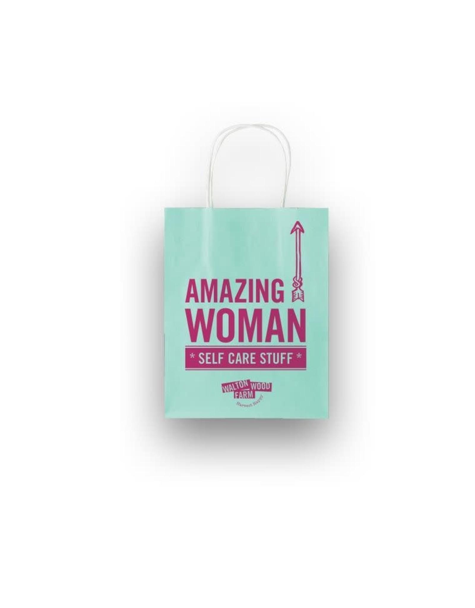 Walton Farms 8 x 10 Craft Gift Bag - Amazing Woman