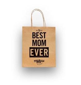 Walton Farms 8 x 10 Craft Gift Bag - Best Mom Ever