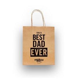 Walton Farms 8 x 10 Craft Gift Bag - Best Dad Ever