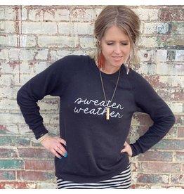 Oak Tree Market Sweater Weather - Heather Black - Size Med