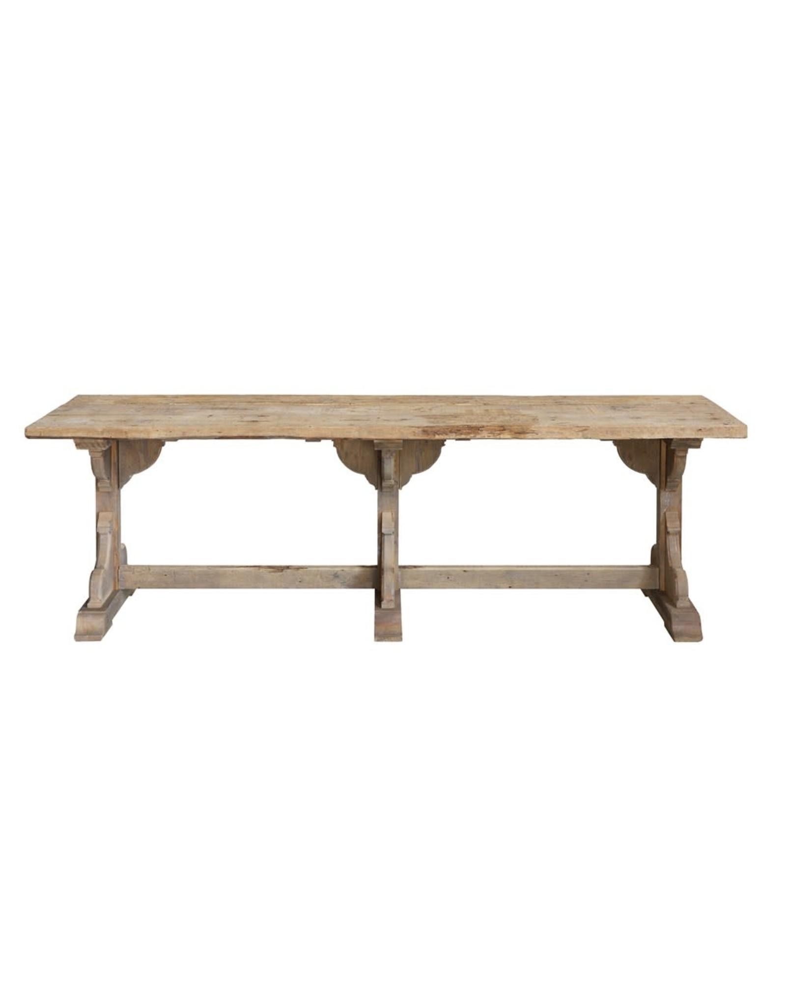 "Creative Co-op 97"" x 29 x 30 Reclaimed Wood Table"