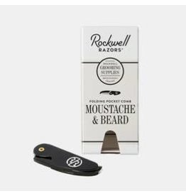 Rockwell Originals Moustache & Beard Folding  Pocket Comb
