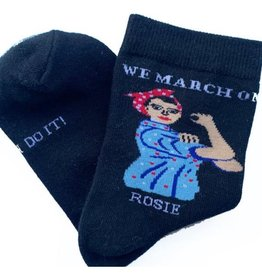 Maggie Stern Stitches Rosie The Riveter Ankle Socks - Womens 7-10