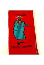 Maggie Stern Stitches Maya Angelou Crew Socks  - Womens 7-10