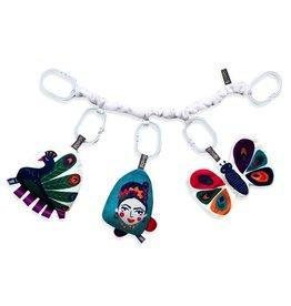 O.B. Designs Laugh & Learn Sensory Toy Set - Peacock