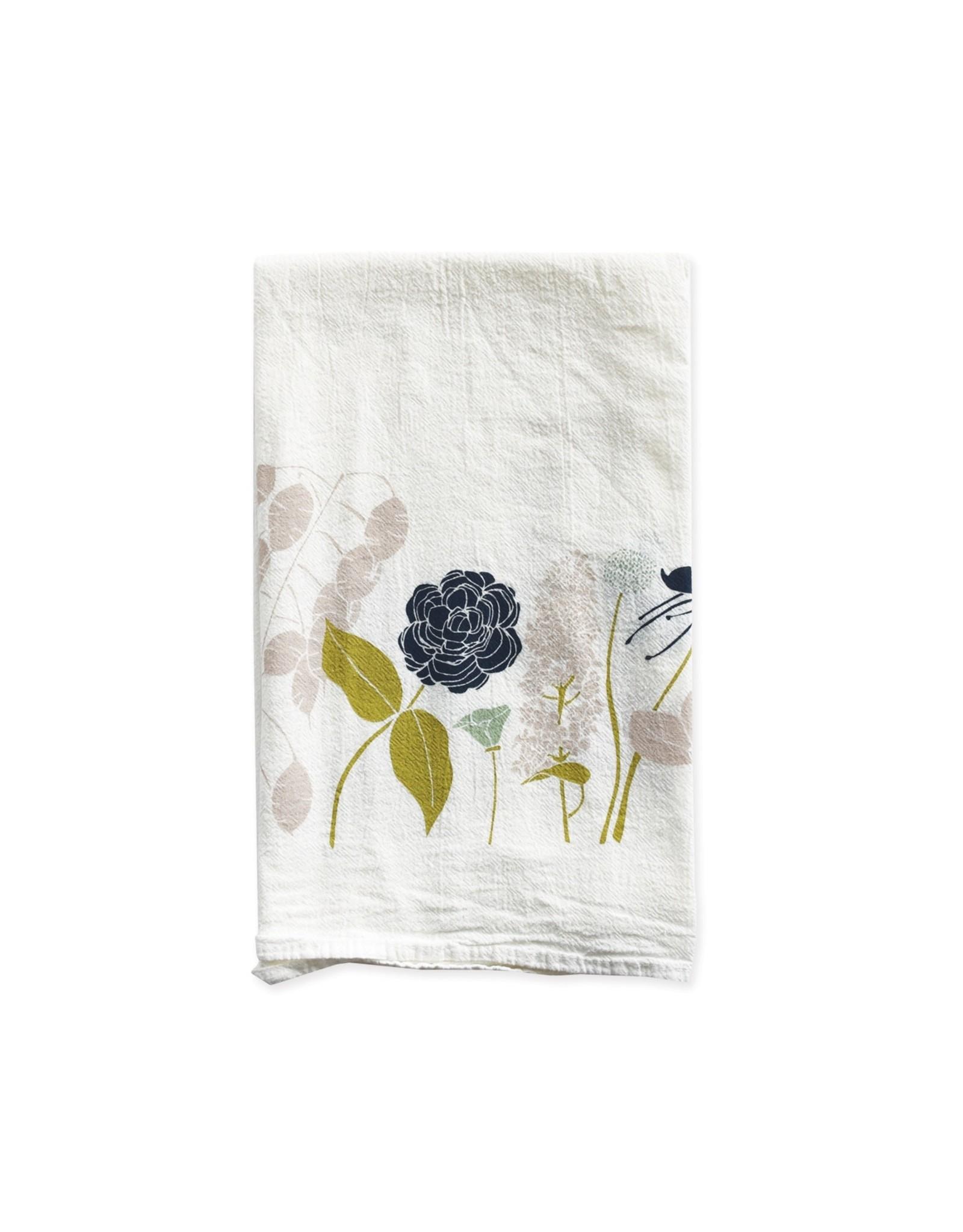 June & December Peace Towel - Flour Sack Tea Towel