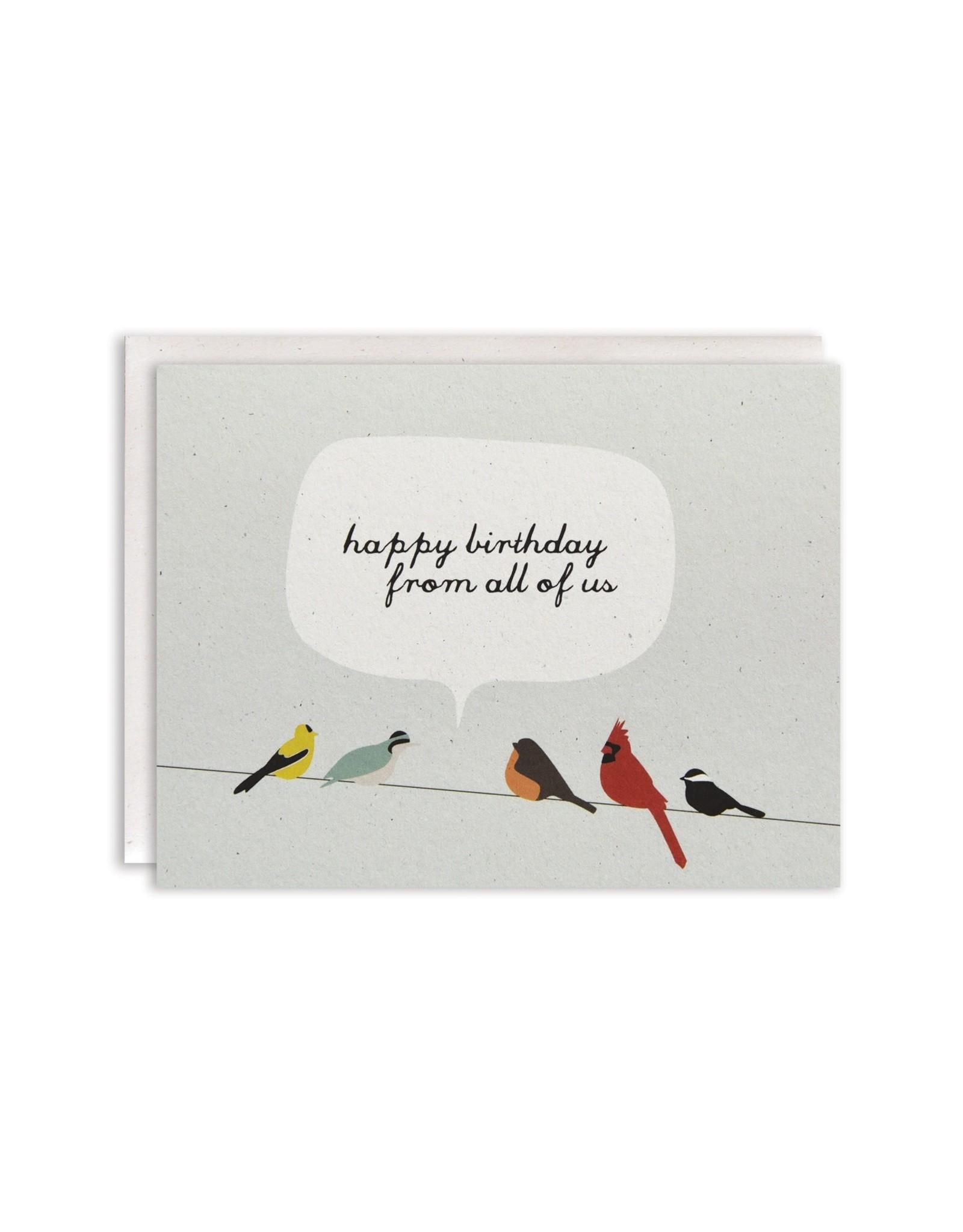 June & December Greeting Card - happy birthday