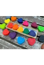 KagesKrayons Heart crayons