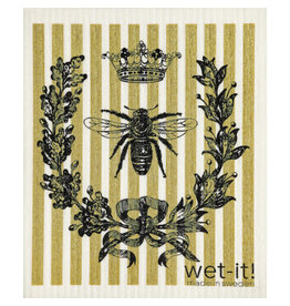 wet-it! French bee Swedish dish cloth