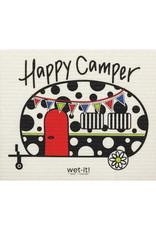 wet-it! Happy Camper Swedish dish cloth
