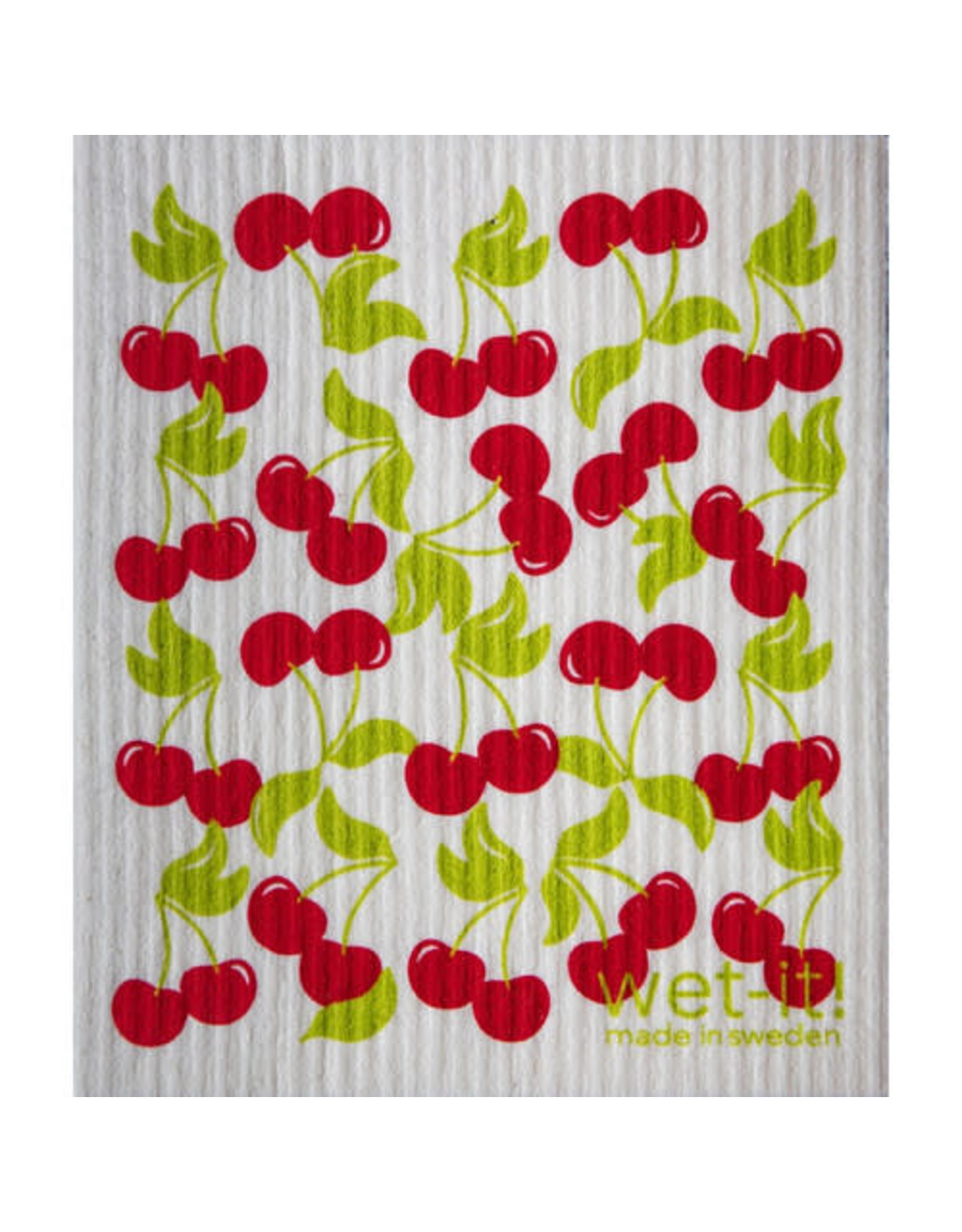 wet-it! Sweet Cherry Swedish dish cloth