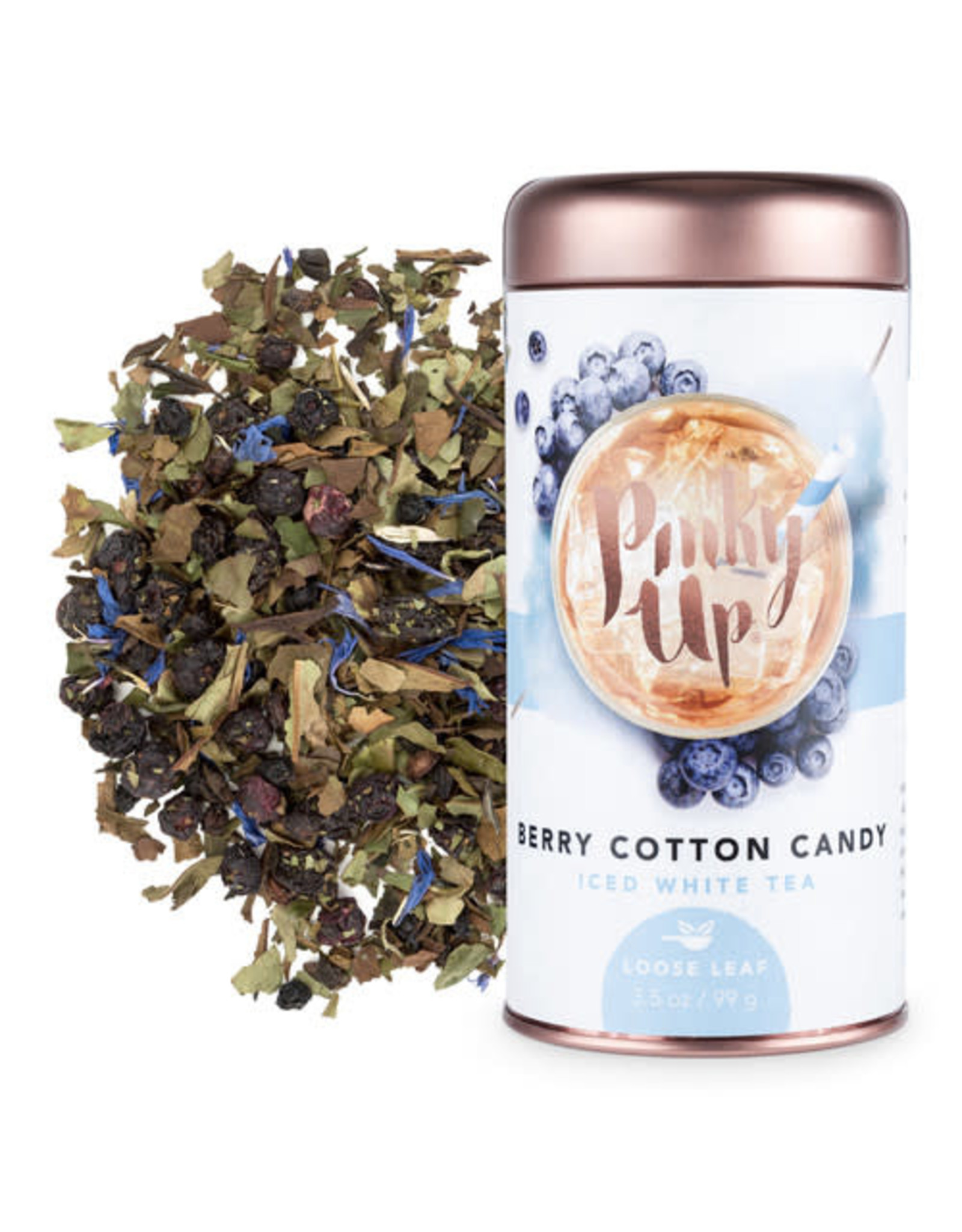 Pinky Up Berry Cotton Candy Loose Leaf Iced Tea