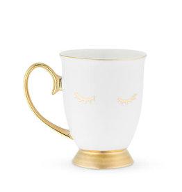 Pinky Up Holly White Lash Mug