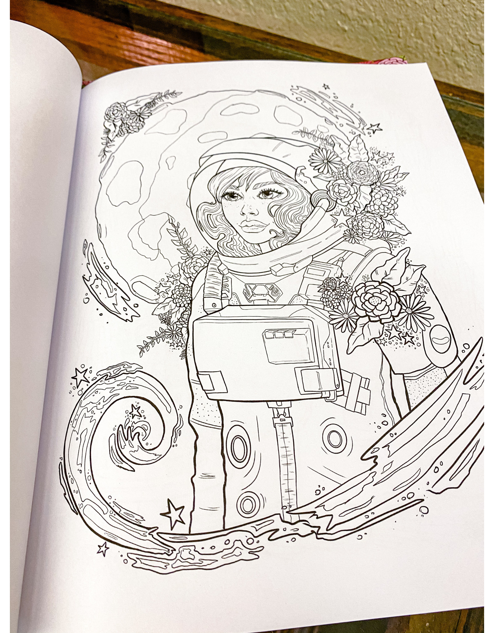 Madison Brown Designs Bloom - A Coloring Book for Industrious Women