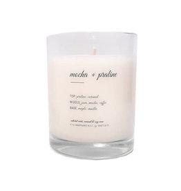 Edisto & Co Mocha & Praline 9.5 oz Candle