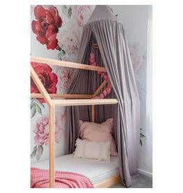 O.B. Designs Linen Canopy - Soft Grey