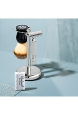 Rockwell Originals 3-pc Shave Stand - Gunmetal Chrome