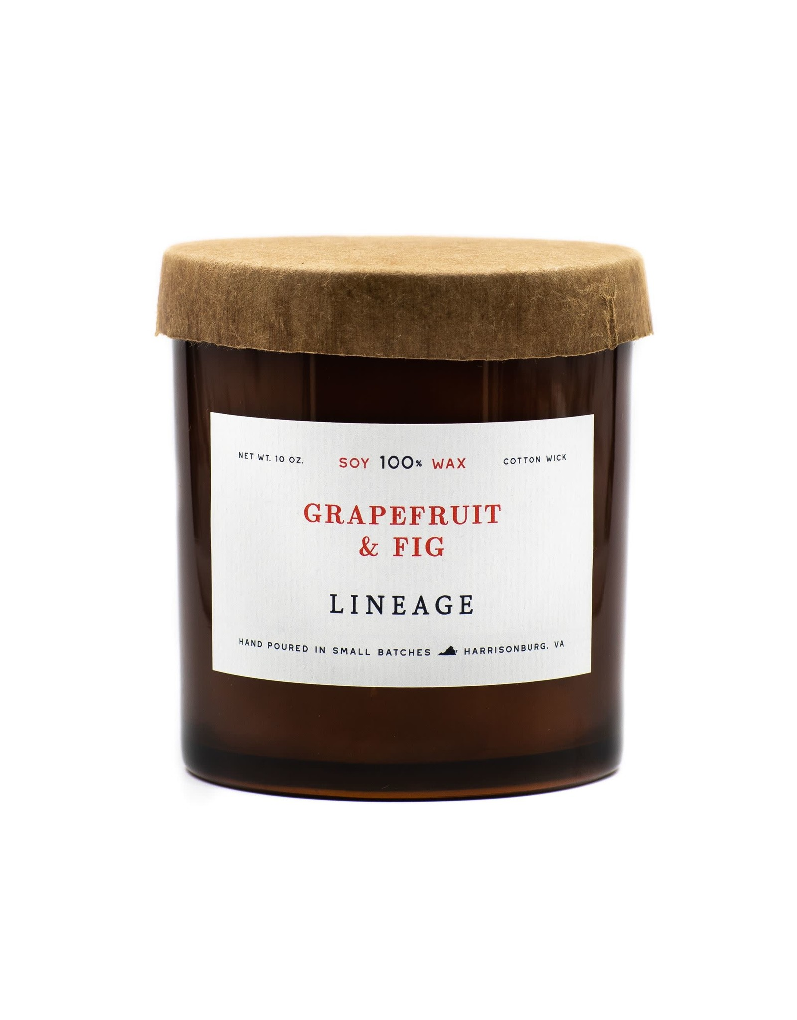 Lineage 10oz Grapefruit & Fig Soy Candle